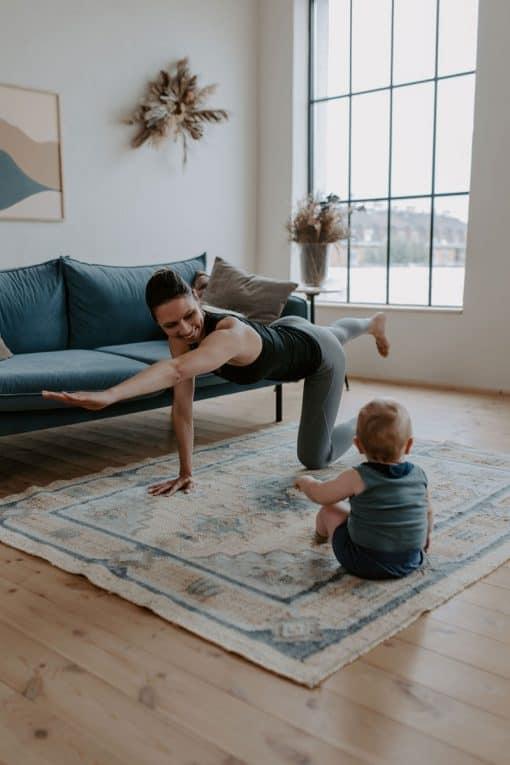 szülés utáni edzés